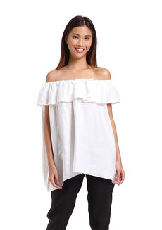 Quinn Top by Manita in White in Free Size