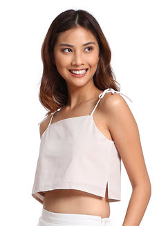Pauline Top by V.alice Clothing in Beige in S