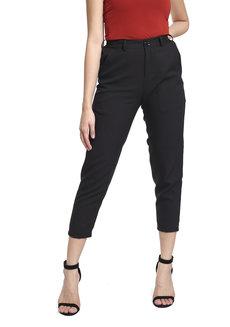 Regular Pants by V.alice Clothing in Black in L