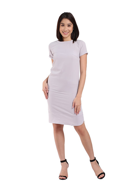The Classic Stretch Tee Dress by Straightforward