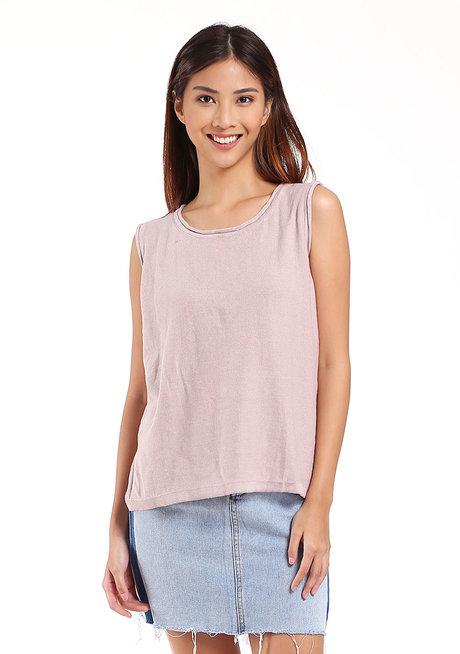 Cotton Sleeveless by Mantou Clothing