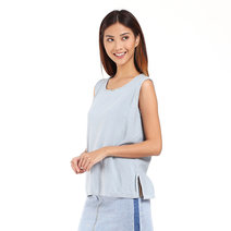 Cotton Sleeveless by Mantou Clothing