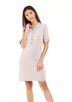 Buttoned Dress by Mantou Clothing