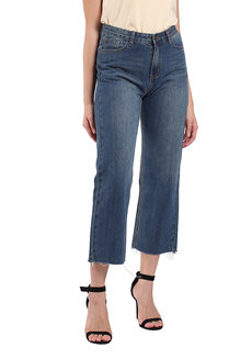 Hi-Rise Wide Leg Jeans by Mantou Clothing