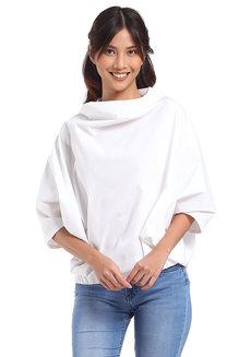 Vinyasa Top by Mode De Vie in White in Free Size