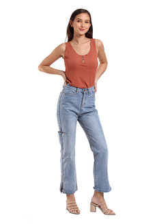 Windy Hi Rise Jeans by Mantou Clothing