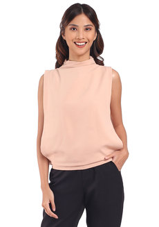 Charlize Top by Mode De Vie in Nude in XS - S