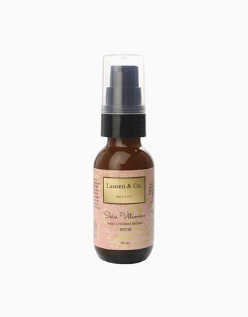 Skin Vitamins Anti Oxidant Serum with SPF 35 - Renewed by Lauren & Co Beauty