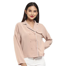 Jam Button Down Top by Pink Lemon Wear