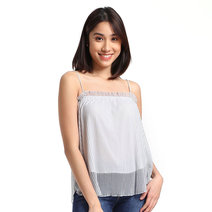 Shimmer Tank Top by Toppicks Clothing