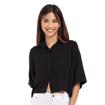 Cropped Polo by Toppicks Clothing