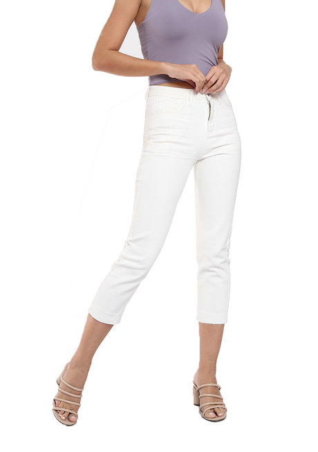 Shim-b's Straight Crop Jeans by Mantou Clothing