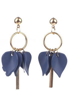 Majorelle Petal Stud Earrings by Moxie PH