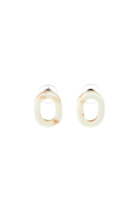 Deep Apricot Earrings by Moxie PH
