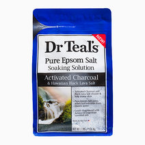 Activated Charcoal & Hawaiian Black Lava Salt Epsom Salt Soak (3lbs.) by Dr. Teal's in