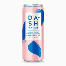 Dash Raspberry Sparkling Water by Raw Bites