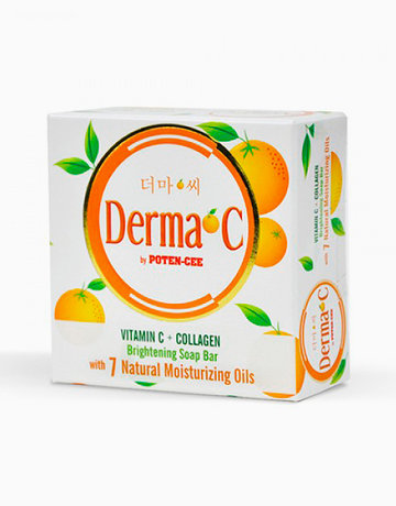DERMA-C by Potencee Vit C+Collagen Brightening Bar Soap by Derma-C