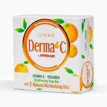DERMA-C by Potencee Vit C+Collagen Brightening Bar Soap by Derma-C in