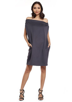 Carmel Pocket Shift Dress by Quite Frankie