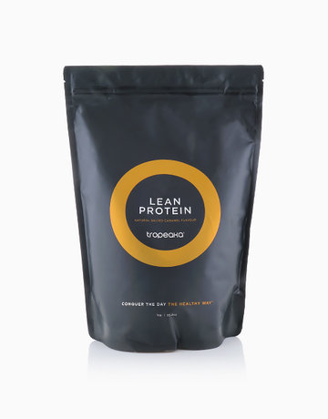 Lean Protein Natural Salted Caramel Flavour (1kg) by Tropeaka