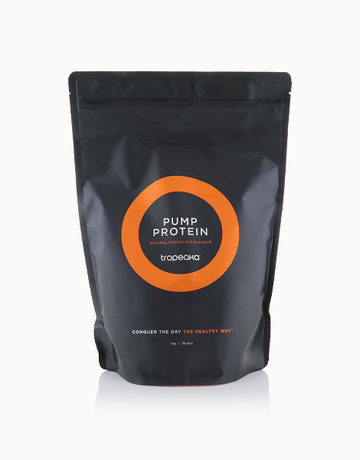 Pump Protein Natural Chocolate Flavour (1kg) by Tropeaka
