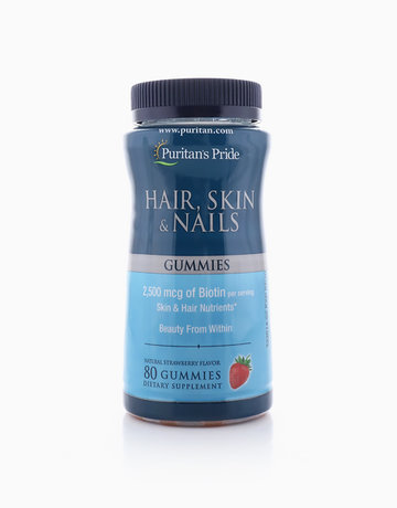 Hair, Skin & Nails (80 Gummies) by Puritan's Pride