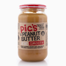 No Salt Added Smooth Peanut Butter (380g) by Pic's Peanut Butter