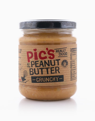 Crunchy Peanut Butter (195g) by Pic's Peanut Butter