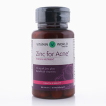 Zinc for Acne (100 Tabs) by Vitamin World US