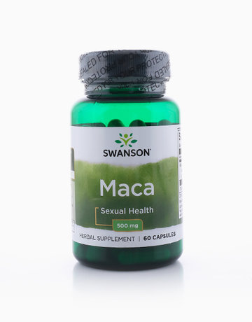 Maca 500mg (60 Capsules) by Swanson
