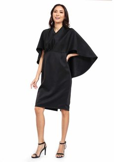 Valencia Cape Dress by Quite Frankie