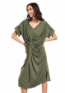 Playa Knotted Kaftan by Quite Frankie
