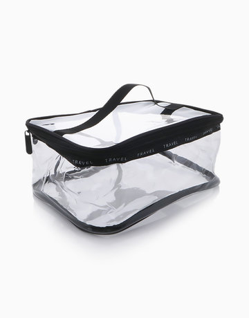 Transparent Travel Pouch Bag-Large by Honest Tools
