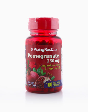 Pomegranate 250mg (100 Caps) by Piping Rock