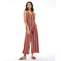 Summer Striped Jumpsuit by Fudge Rock