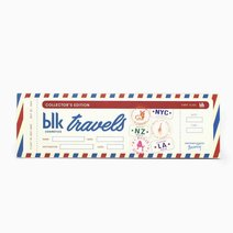 Collector's Edition All-Day Intense Matte Lipstick Set of 6 Mail Box by BLK Cosmetics in