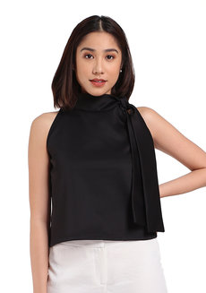 Bow Top by George&Rita in Black in S