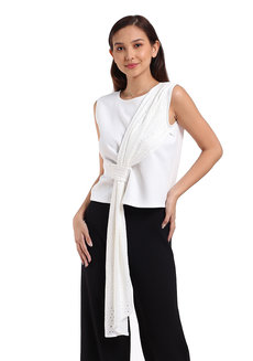 Crissy Top by George&Rita in White in S