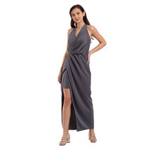 Darla Pleated Self-tie Dress by Lili Co.