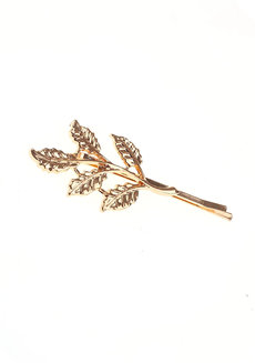 Athena Leaf Hairclip by Dusty Cloud