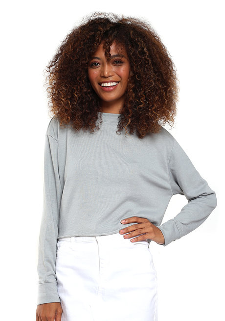 Kendra Cropped Sweater by Morning Clothing