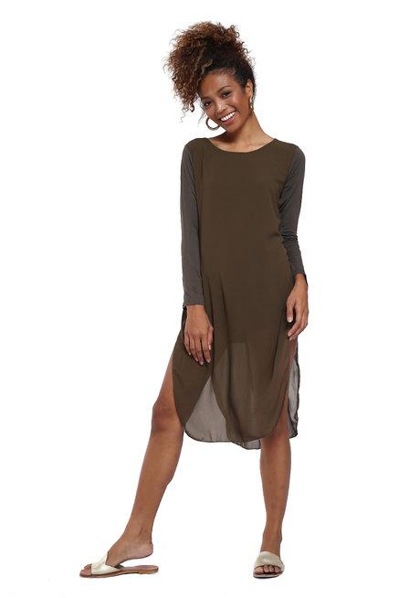Aviva Layered Chiffon Dress by Willow