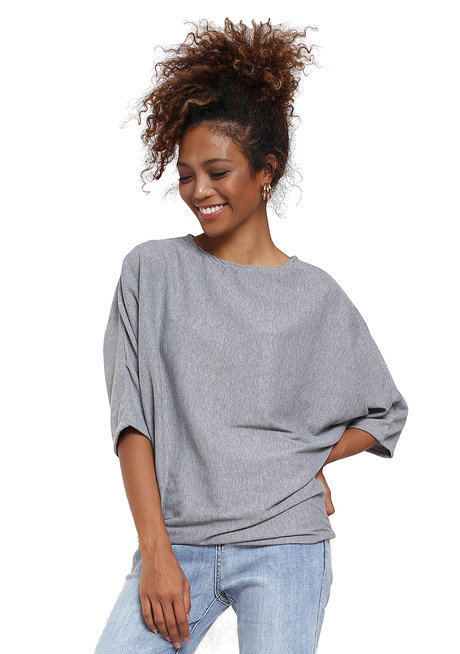 Sloanne Knitted Dolman Sleeved Top by Willow