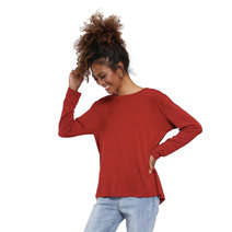 Rumi Draped Back Blouse by Willow