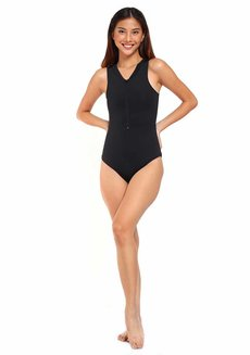 Blake One Piece Suit by Salt Swim in Black in L