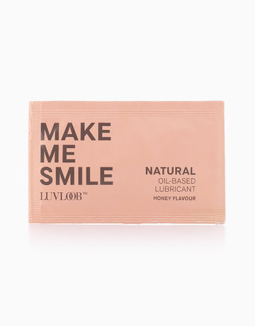 Natural Oil-Based Lubricant in Honey Flavor by LuvLoob