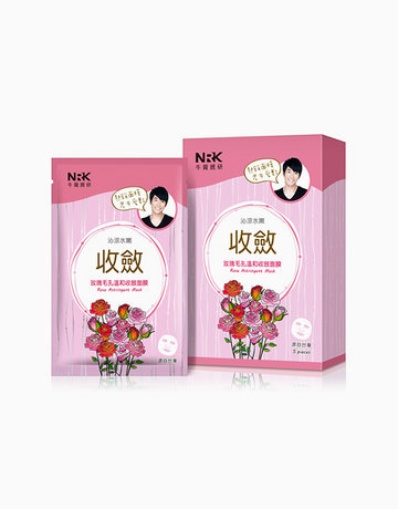 Rose Astringent Mask (5 Pcs.) by Naruko