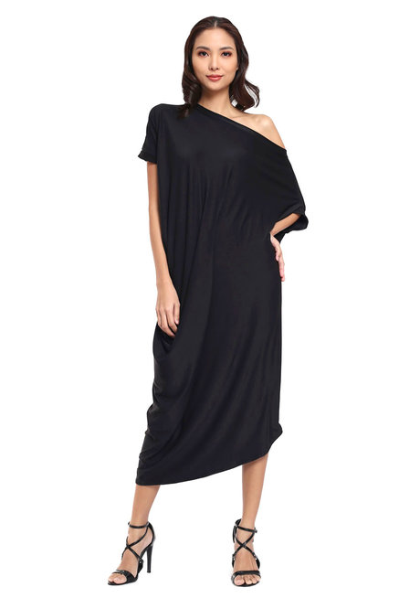 Laguna Asymmetric Dress by Quite Frankie