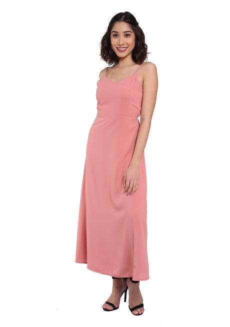 Sexy Back Dress by Pink Lemon Wear