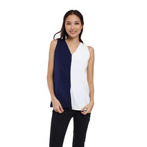 Shirley Two-Color Sleeveless Top by Flair & Stare